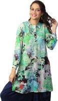 Love From India Floral Print Women's Tunic