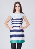 American Swan Striped Women's Tunic