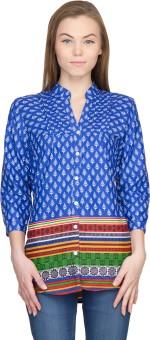 Famous By Payal Kapoor Geometric Print Women's Tunic