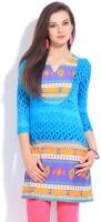 Global Desi Geometric Print Women's Tunic