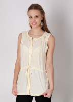 Laven Solid, Embroidered Women's Tunic