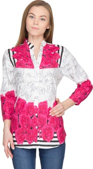 Famous By Payal Kapoor Floral Print Women's Tunic