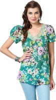 Love From India Floral Print Women's Tunic - TUNEYC4GZ5BBGHYS