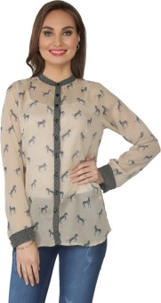 From The Ramp Animal Print Women's Tunic