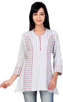 Lifestyle Retail Missy Printed Women's Tunic