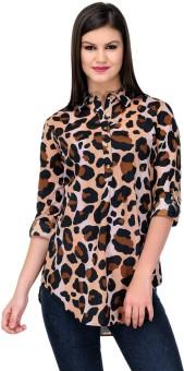 Stilestreet Animal Print Women's Tunic