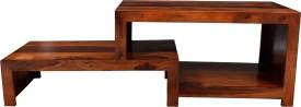 aAdinath Solid Wood Media Cabinet