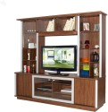 Style Spa Engineered Wood Entertainment Unit (Finish Color - Honey Brown)