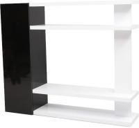 EVOK Solid Wood Entertainment Unit (Finish Color - Black)