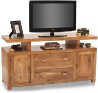 HomeEdge Solid Wood Entertainment Unit (Finish Color - Natural) - TVUEH3GASFKFTYTG