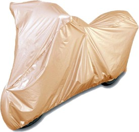 ATC Mahindra Rodeo RZ (With Free 2 Tyre Light Motion Sensor) Beige Two Wheeler Cover