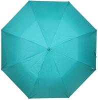 Fendo Auto Open 2 Fold Nylon Women Strawberry _c Umbrella (Green)