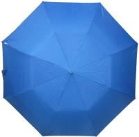 Fendo Auto Open 2 Fold Nylon Women Strawberry _i Umbrella (Blue)