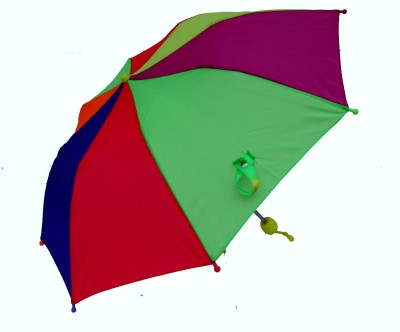 Rainy-Children-2-Fold-Multi-(5-10-Yrs)-Umbrella
