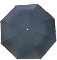 Fendo Auto Open 3 Fold Nylon Women Gazebo _b Umbrella (Black)