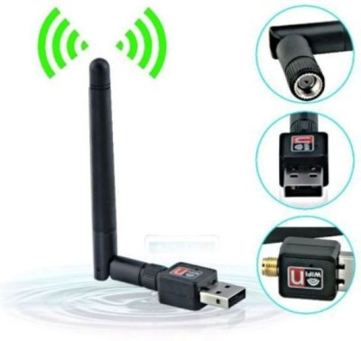 Generix GxPro 600 mbps Mini Wifi Usb Adapter With Antenna External Ethernet Dongle