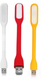 Wowobjects White,Red,Yellow USB Led Light