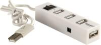 Robotek 4 Port USB Hub 4 Port USB Hub USB Hub (White)
