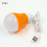 MUSKAAN SHOPPERS Led Bulb Led-337 Led Light (Orange)