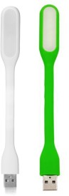 Wowobjects White,Green USB Led Light