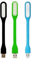 WowObjects Combo Black Green And Blue COM_BLACK+GREEN+BLUE_LAMP_11 USB Led Light (Black, Green, Blue)