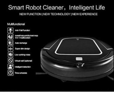 Exilient ReadyMaid Dry/Wet Robotic Floor Cleaner (Black)