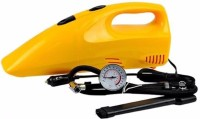 Shopo 2 In 1 300 PSI Tire Inflator Air Compressor Dry Vacuum Cleaner (Yellow)