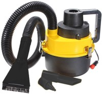 Autosun 2 In 1 Car And Blower Car Vacuum Cleaner (Yellow, Black)