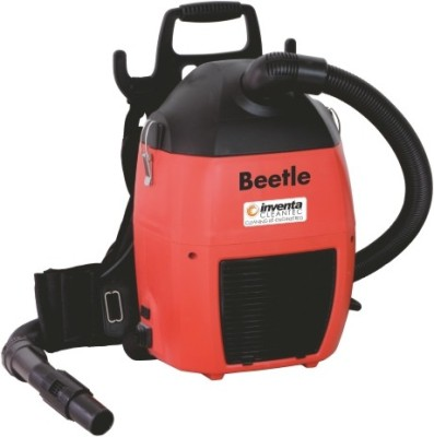 Inventa Beetle Dry Vacuum Cleaner (Orange, Yellow)