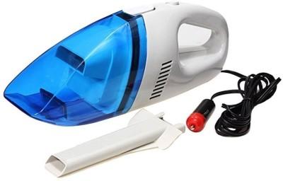 Globalepartner GP-243 Car Vacuum Cleaner (WHITE, BLUE)