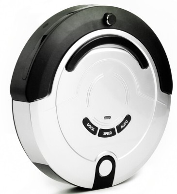Sweephome CRVC209 Robotic Floor Cleaner (Silver, Black)