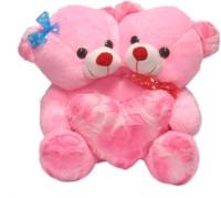Ktkashish Toys Kashish Valetine Special ,, Pink Couple Teddy Bear 17 Inch  - 17 Inch (Pink)