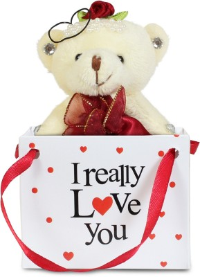 Everyday Gifts Real Love Teddy Gifts Valentine Gift Set For Rs 199