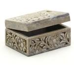 Aapno Rajasthan Vanity Boxes Aapno Rajasthan Multiutility Box With Carved Floral Design Multiutility Vanity Jaali