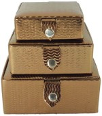 Goldencollections Vanity Boxes Goldencollections Multi Utility Copper Jewellery Vanity Multi Purpose