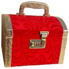Kuber Industries Palki Vanity / Cosmetic / Bangle Box in heavy Hard Coated Material With Lock Make Up Vanity Jewellery