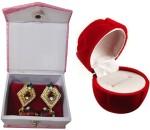 Atorakushon Vanity Boxes Atorakushon Flower Ear & Ring Box Vanity Case