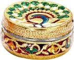 Aapno Rajasthan Vanity Boxes Aapno Rajasthan Peacock & Floral Design Multiutility Vanity Box