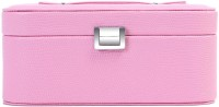 Uberlyfe Double Level Baby Pink Jewellery Box Vanity Multi Purpose (Pink)