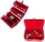 Addyz Vanity Boxes Addyz Combo Studs Tops Pocket & Ring Jewellery Vanity Case