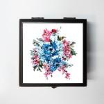 Merchbay Vanity Boxes Merchbay Flower Painting Accessory Box | Prakash Raman Jewellery, Make up, etc. Vanity Jewellery
