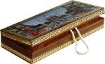 Aapno Rajasthan Vanity Boxes Aapno Rajasthan Taj Mahal Designed Gemstone Jewellery Vanity Multi Purpose