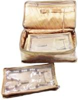 ADDYZ Necklace Makeup Vanity Case (Golden)