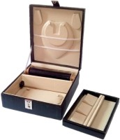 Addyz Jewellery Organizer Vanity Case (Black)