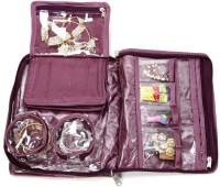 Addyz Cosmetic Makeup Vanity Case (Purple)