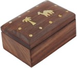 Crafts'man Vanity Boxes Crafts'man Wooden Decorative Jewellery Vanity Box