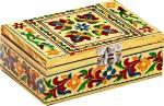 Aapno Rajasthan Vanity Boxes Aapno Rajasthan Rectangular With Floral Design Multiutility Vanity Box
