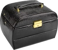 Anni Elegenza Jewellery Cum Makeup Vanity Box (Black)