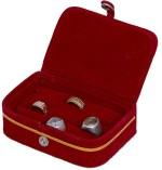 Kuber Industries Vanity Boxes Kuber Industries Velvet Jewellery Vanity Case