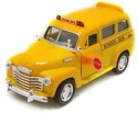Kinsmart Chevrolet Suburban School Bus - Yellow